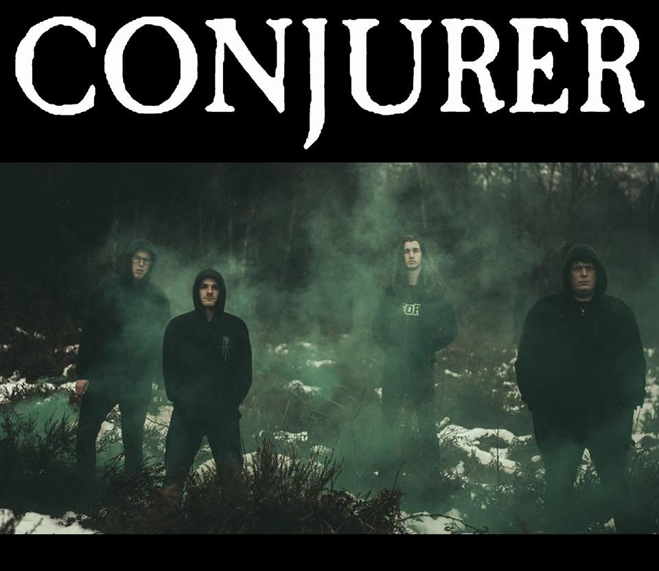 Pete at ArcTanGent: Conjurer Interview