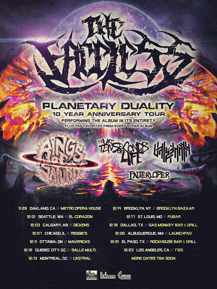 """The Faceless Announce a Tenth Anniversary Tour for """"Planetary Duality"""""""