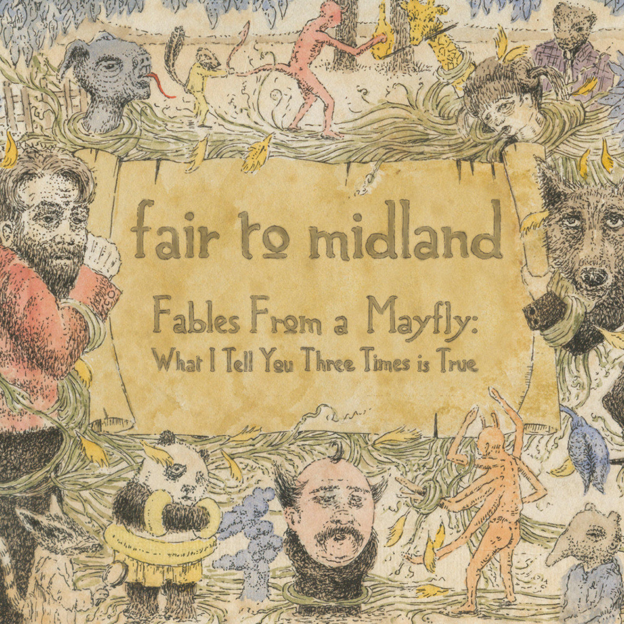 "A SCENE IN RETROSPECT: Fair to Midland – ""Fables From a Mayfly"""
