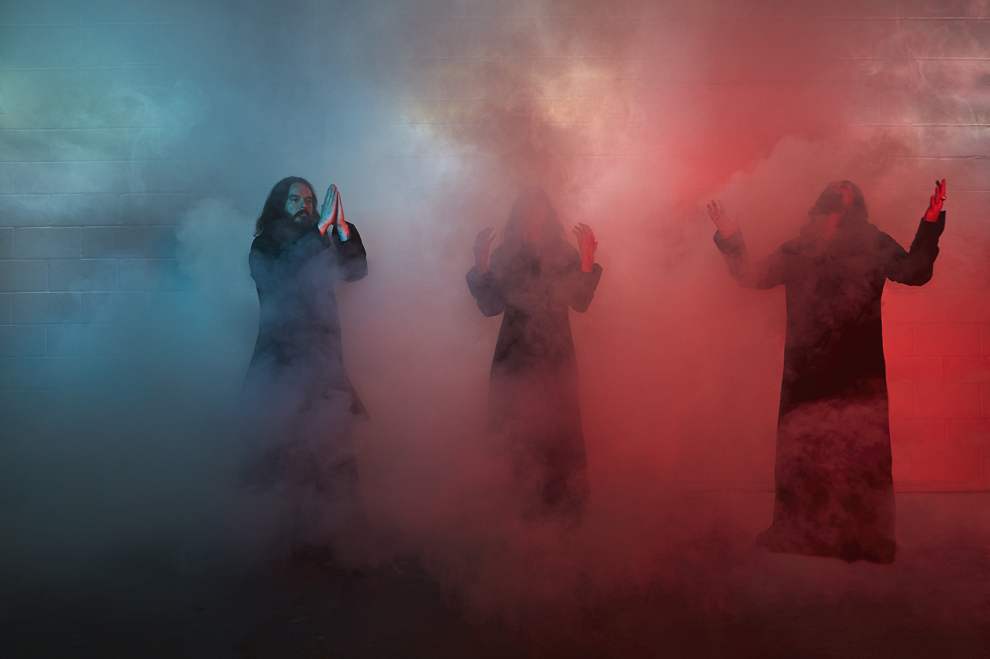 "Sunn O))) Come to ""Life Metal"" in April 2019 and Tour Too!"