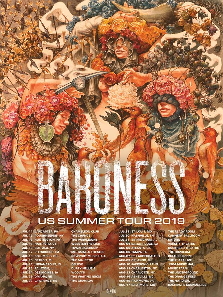 Baroness Announce US Tour, Release New Song