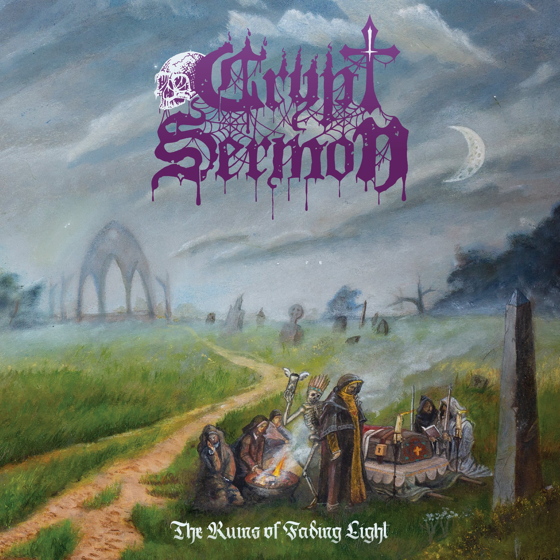 "Crypt Sermon Announce New Album ""The Ruins of Fading Light"" With Mystifying New Single"