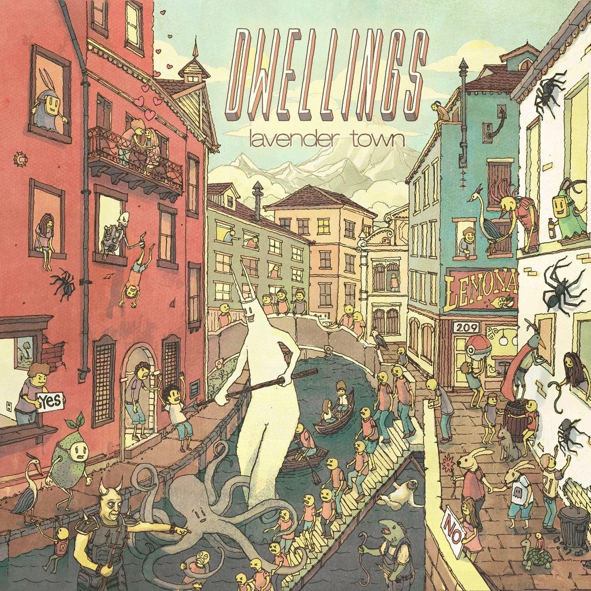 """Dwellings – """"Lavender Town"""""""