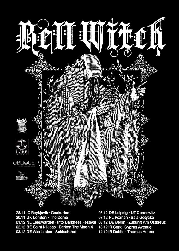 """This Fall Brings Bell Witch and """"Mirror Reaper"""" to Europe"""