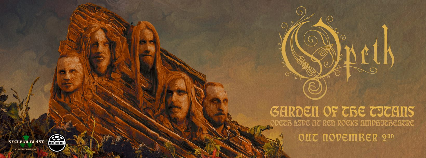 "Opeth Invite You to the ""Garden Of The Titans"" with a New Live DVD"