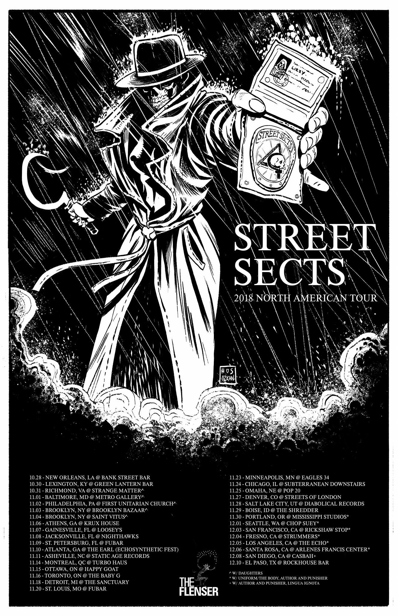 Street Sects Smash Face-First into the Road for an Intensive North American Tour