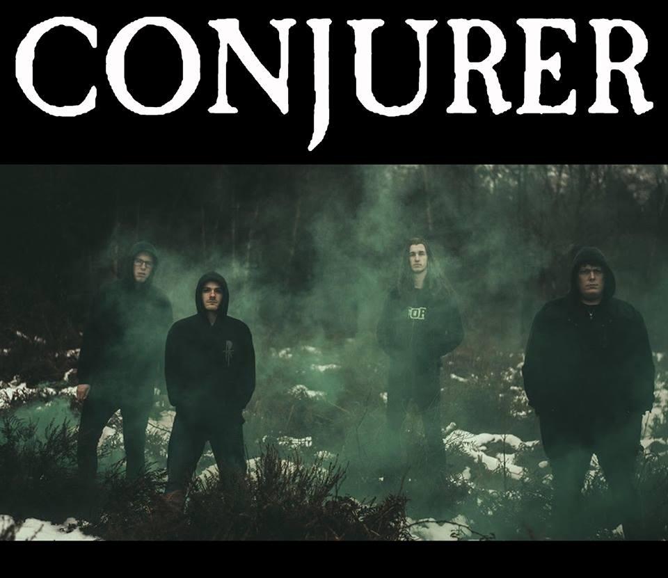 Pete at ArcTanGent: Conjurer Interview