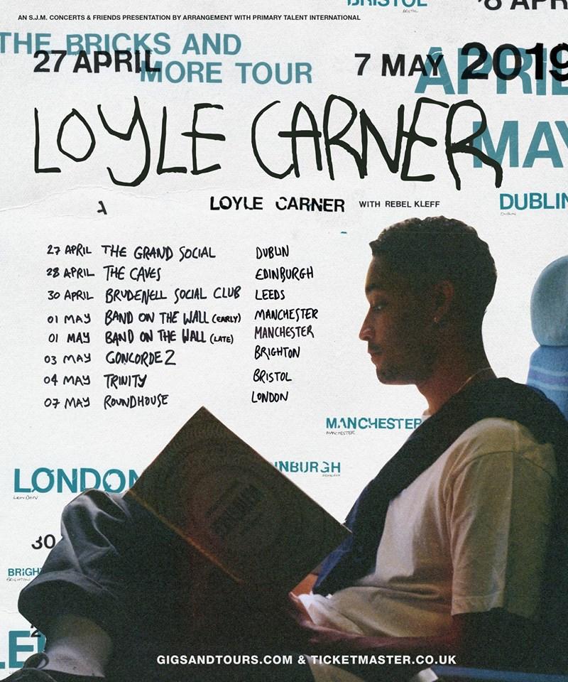 Loyle Carner Drops New Single, Announces Spring UK Tour