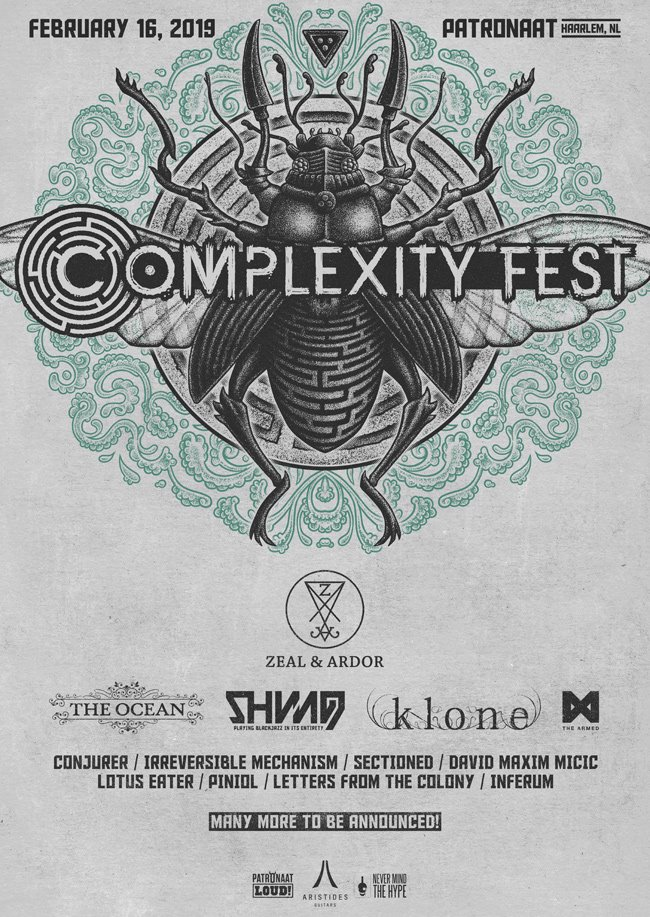 Complexity Fest Announces Headliner and Five Other Intriguing Bands