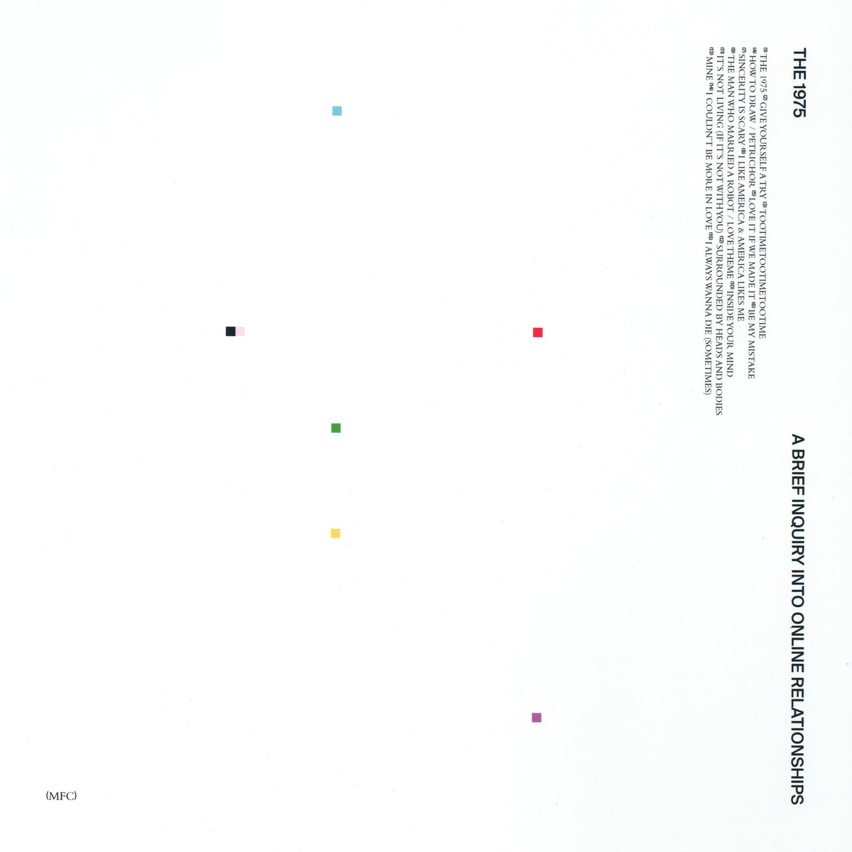 """The 1975 – """"A Brief Inquiry Into Online Relationships"""""""
