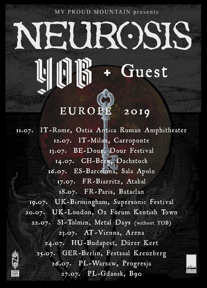 Yob Will Join Neurosis for a European Tour this Summer