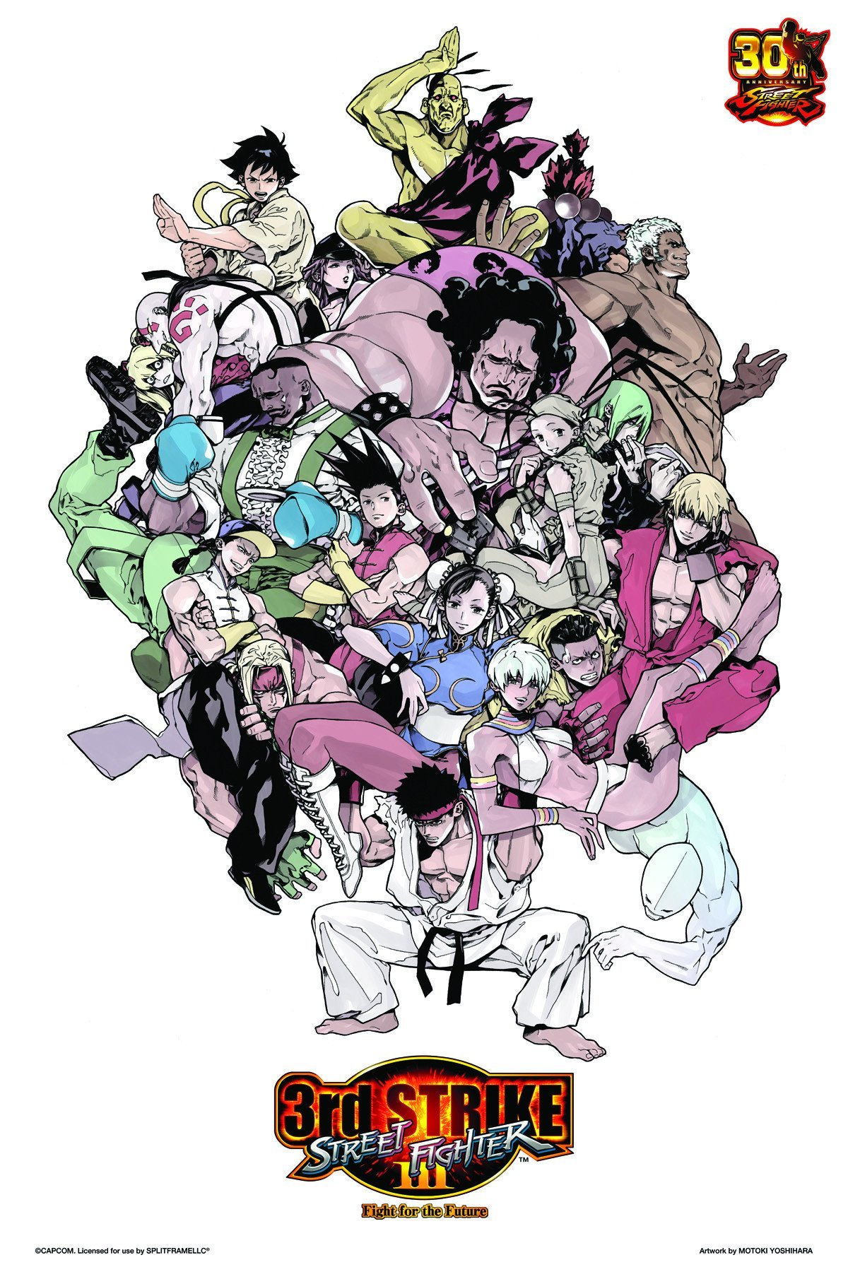 SOUND TEST: Street Fighter III: 3rd Strike: Fight for the Future
