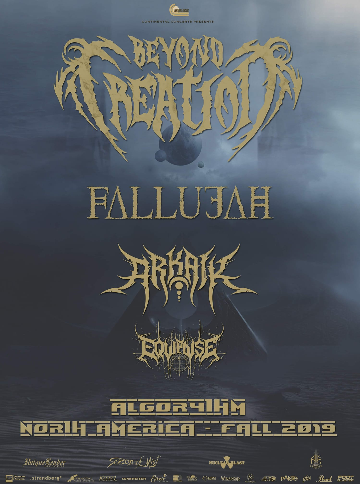 Beyond Creation To Headline Monster North American Tour This Fall