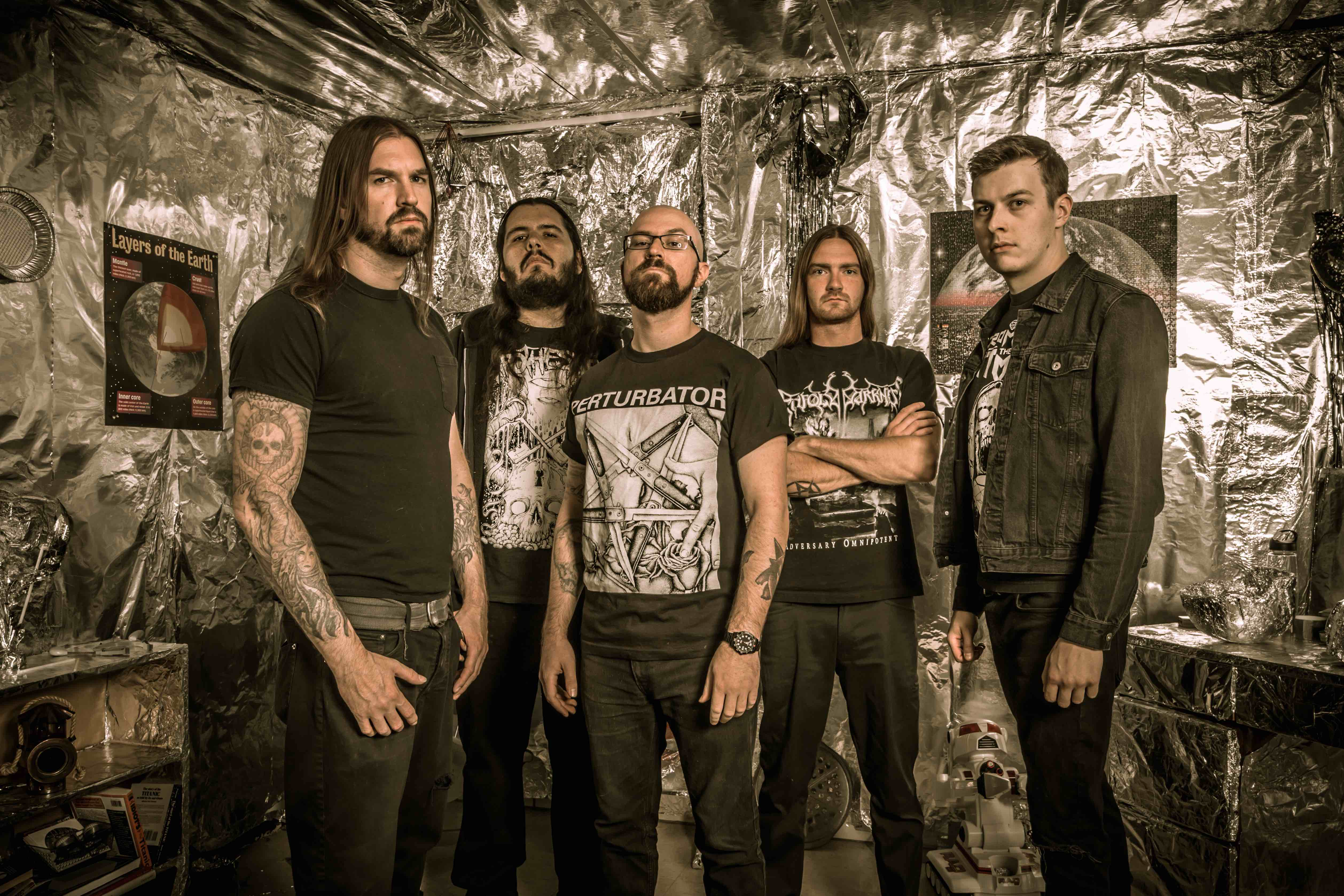 Allegaeon Announce US Tour with Inferi and Paladin