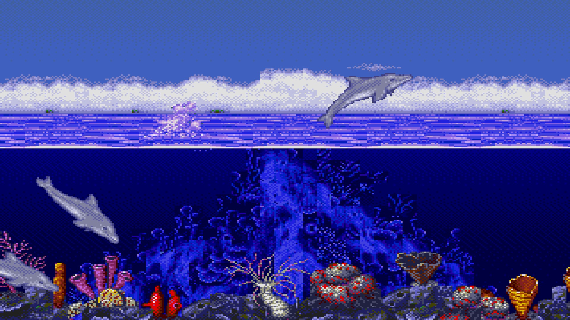 SOUND TEST: Ecco The Dolphin