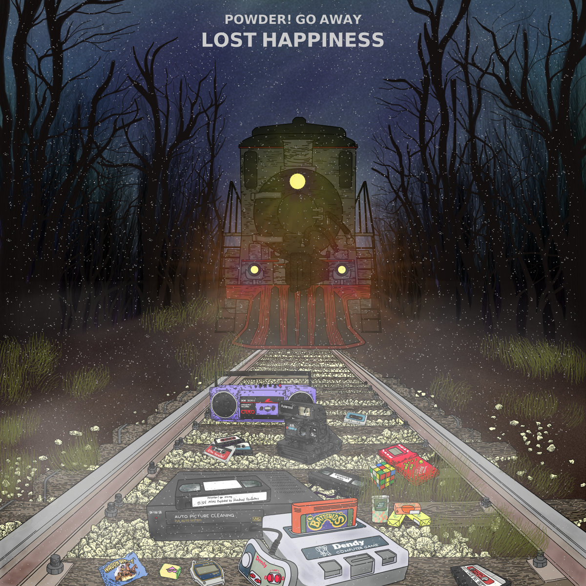 """Powder! Go Away – """"Lost Happiness"""""""