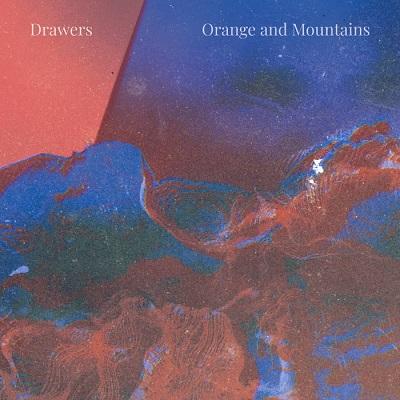 orange and mountains april